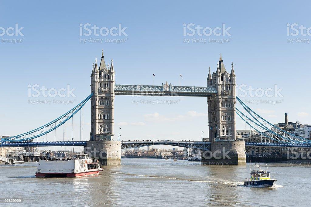 Tower Bridge,London royalty-free stock photo