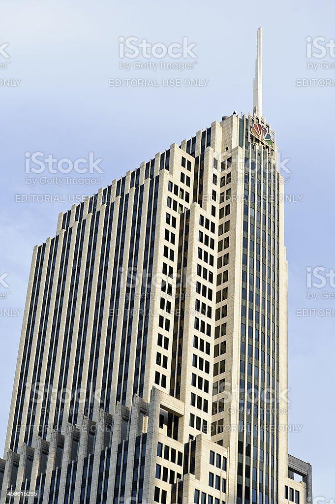 NBC Tower, Chicago, Ilinois, USA stock photo