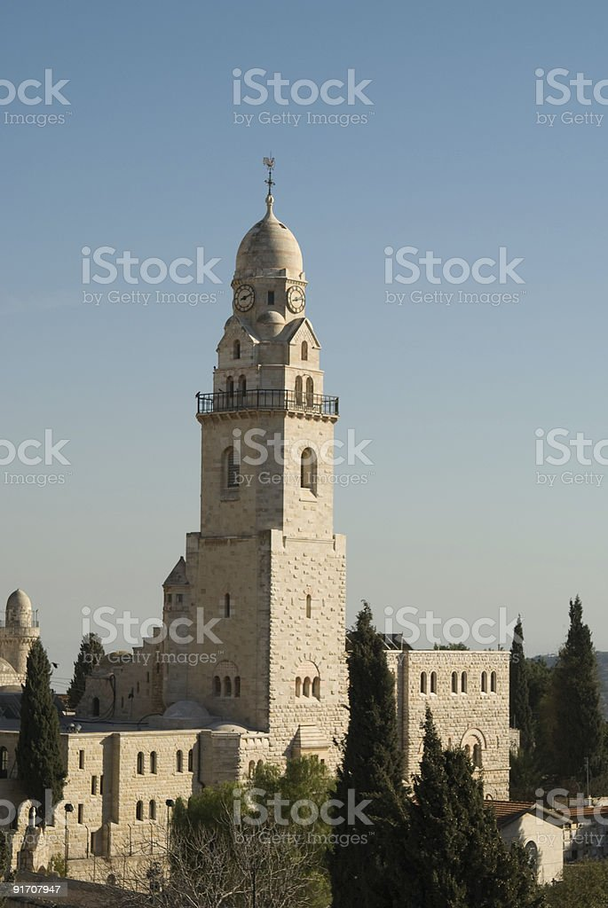 Tower. Church of the Dormition royalty-free stock photo