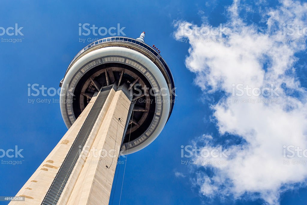 CN Tower Edge Walkers stock photo