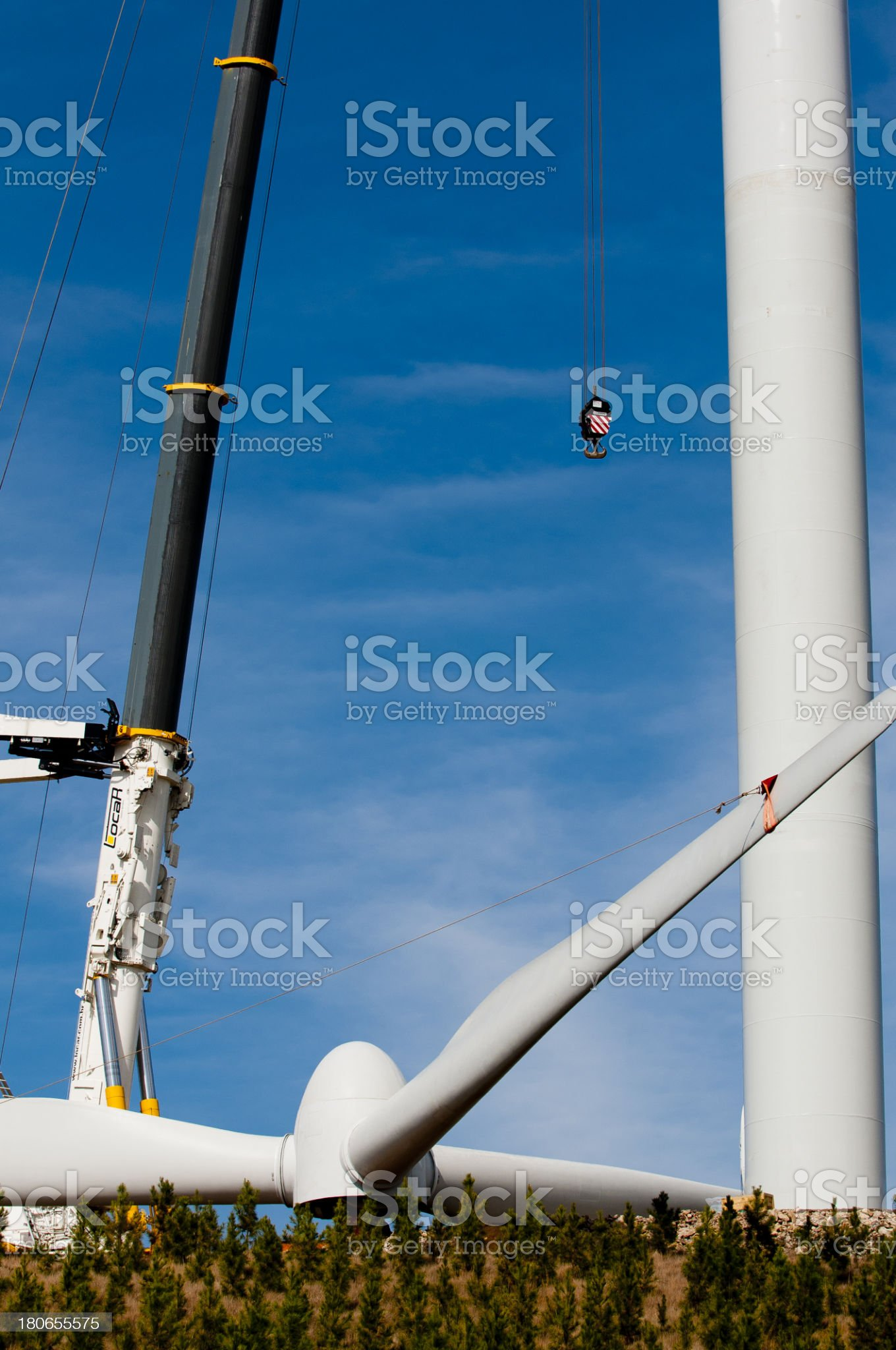 Tower Eolica royalty-free stock photo