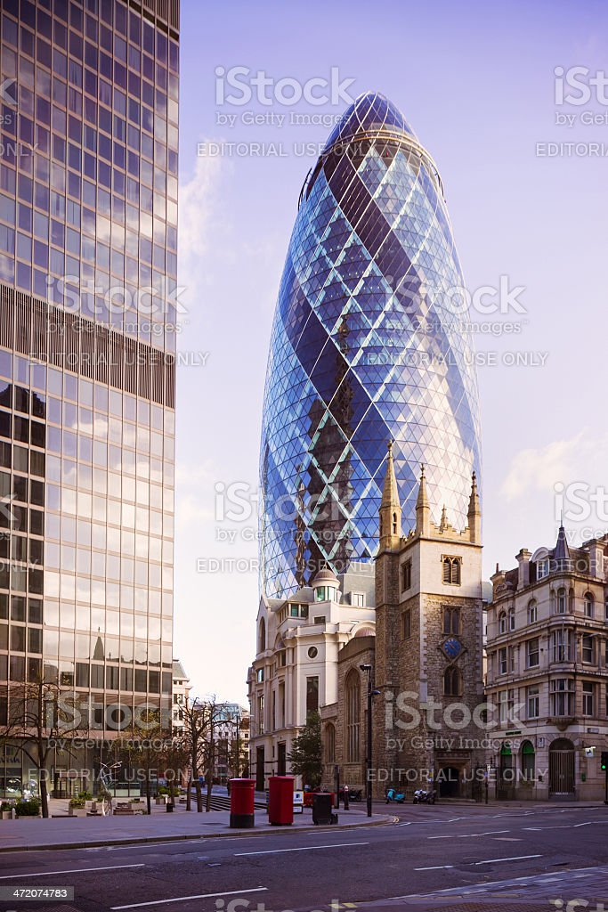 Tower Hill London UK royalty-free stock photo