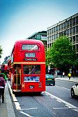 Tower Hill routemaster bus