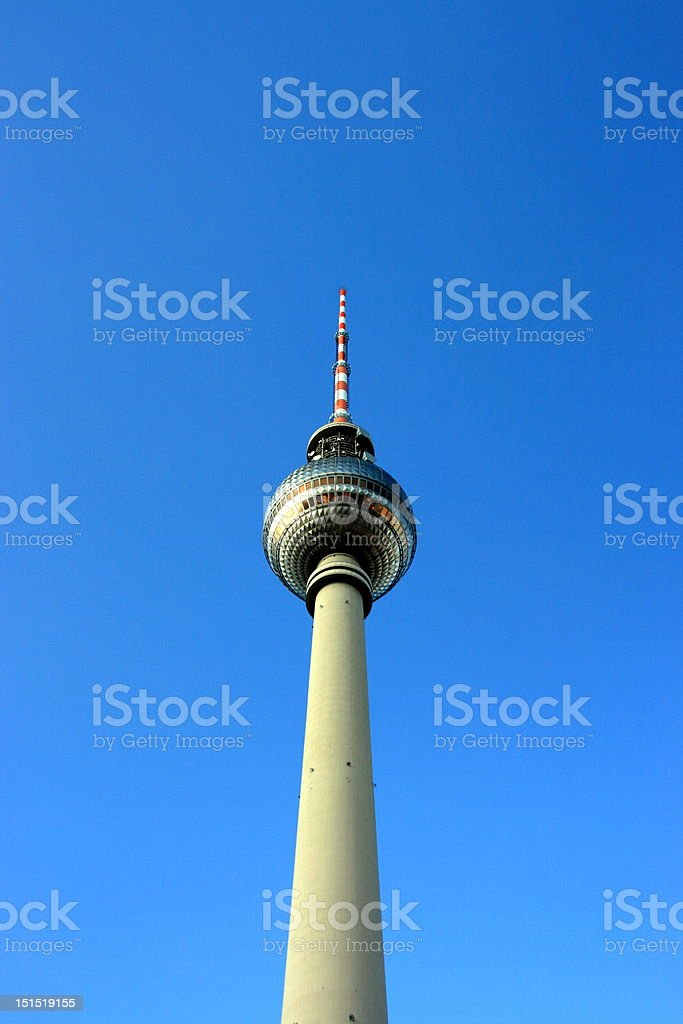 TV Tower in Berlin royalty-free stock photo