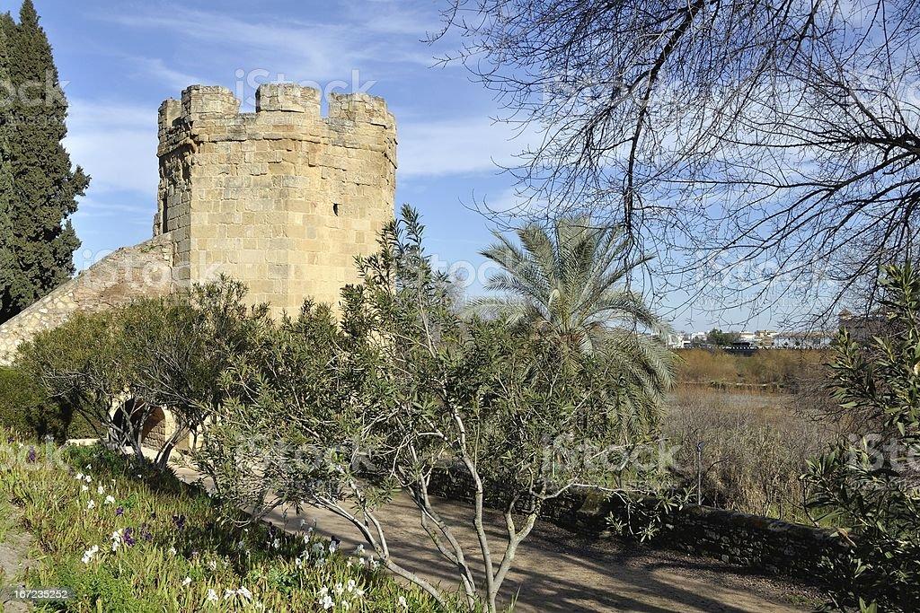 Tower in Cordoba, Spain stock photo