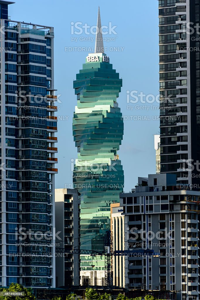 XXXL: F & F tower in Panama City stock photo