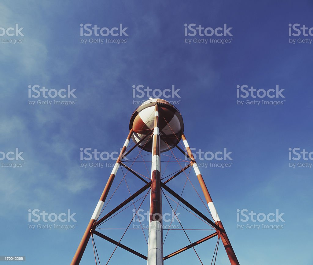 Tower in the Sky royalty-free stock photo