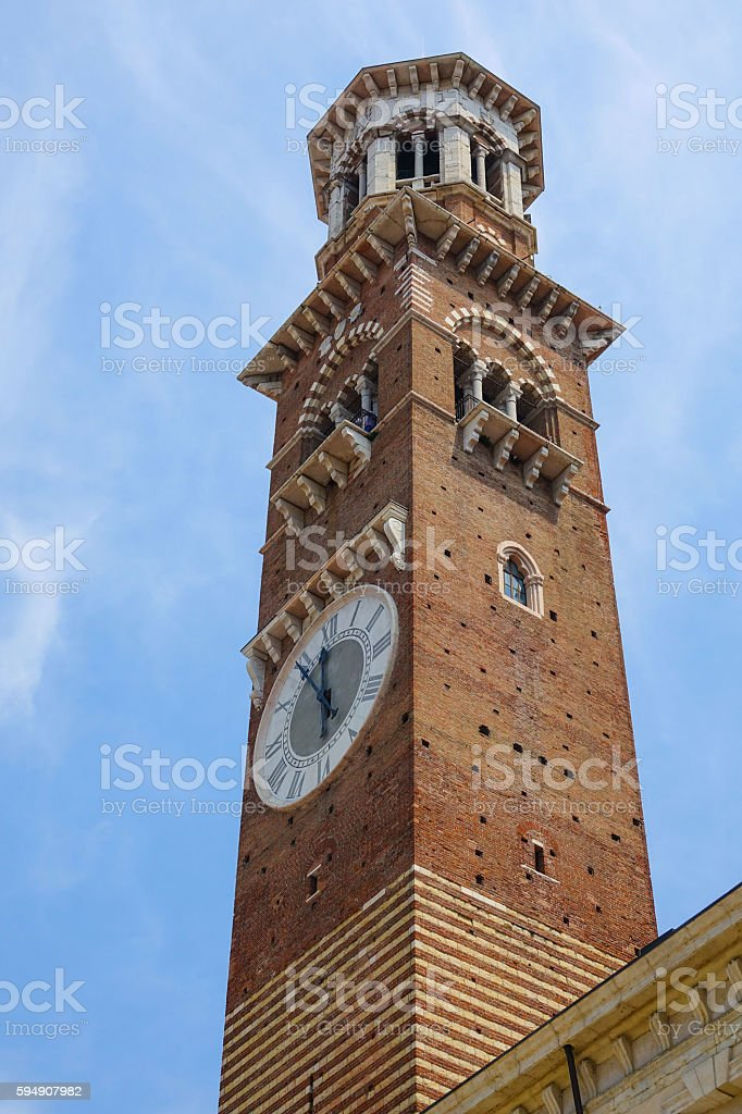 Tower in Verona Italy Lizenzfreies stock-foto