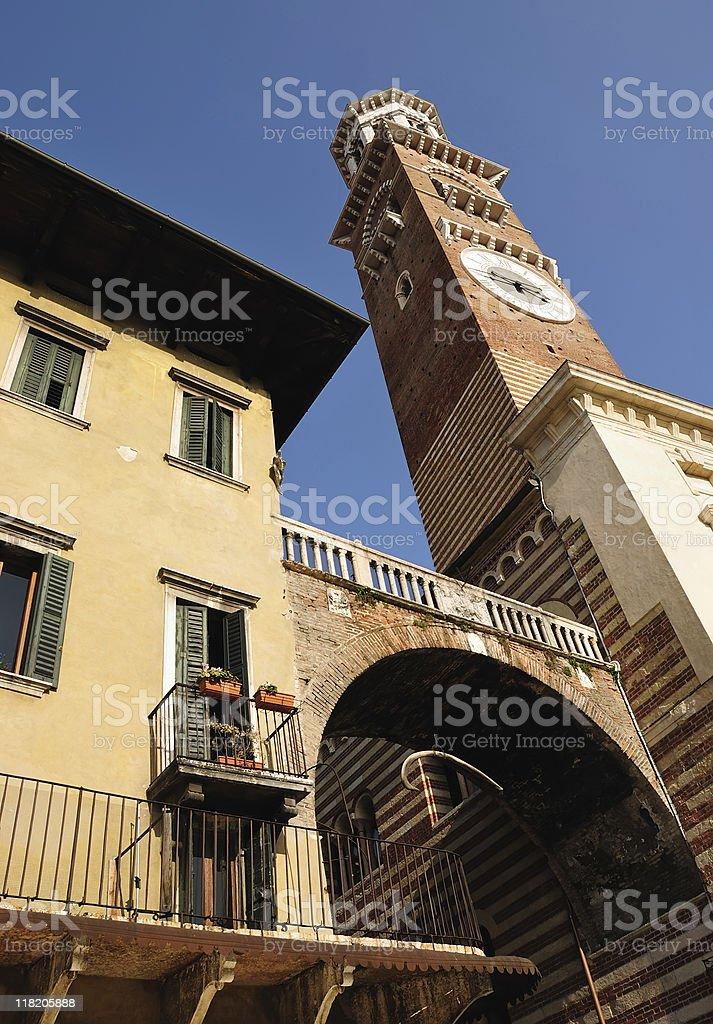 Tower Lamberti royalty-free stock photo