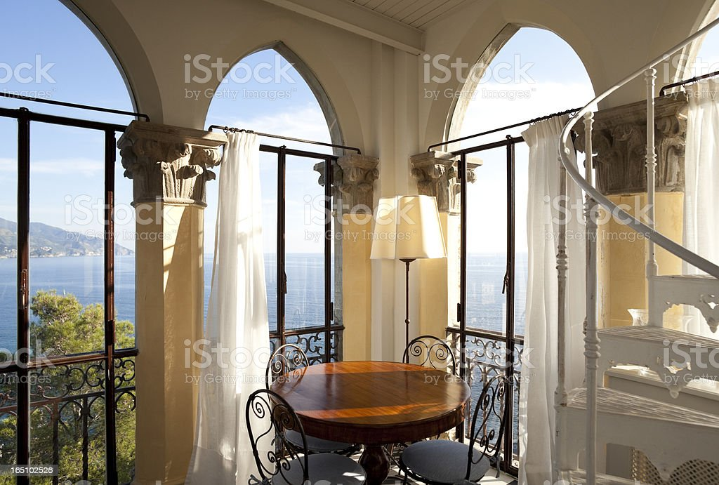 tower, luxury residential apartments royalty-free stock photo