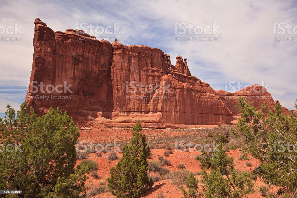 Tower of Babel Side View stock photo