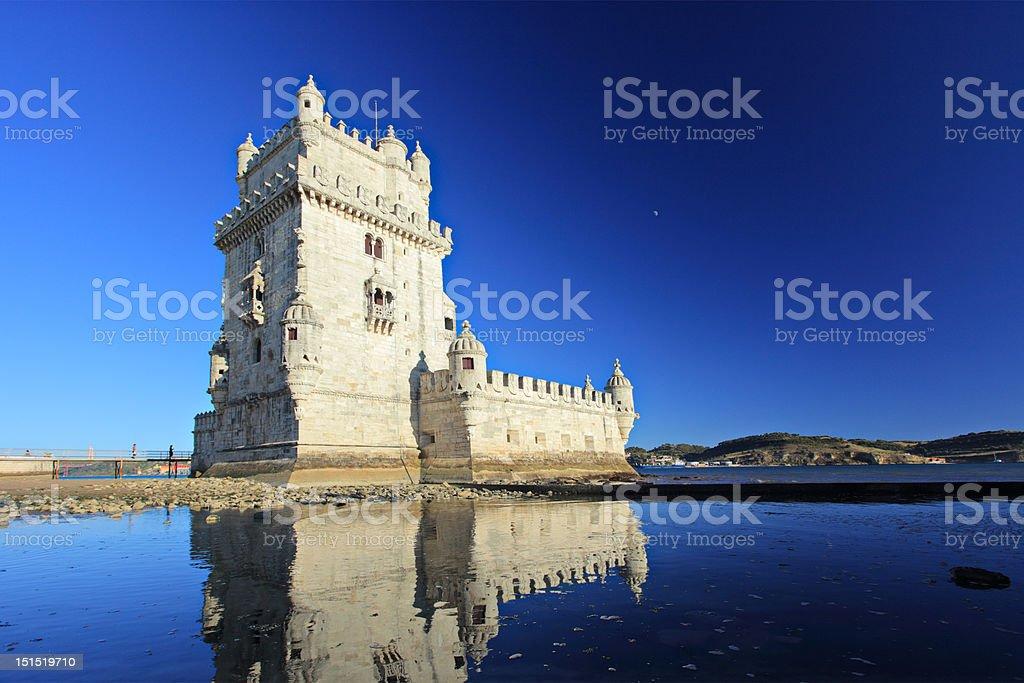 Tower of Belem, Lisbon royalty-free stock photo