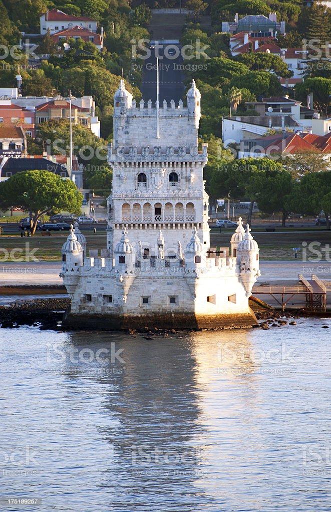 Tower of Belem, Lisbon stock photo