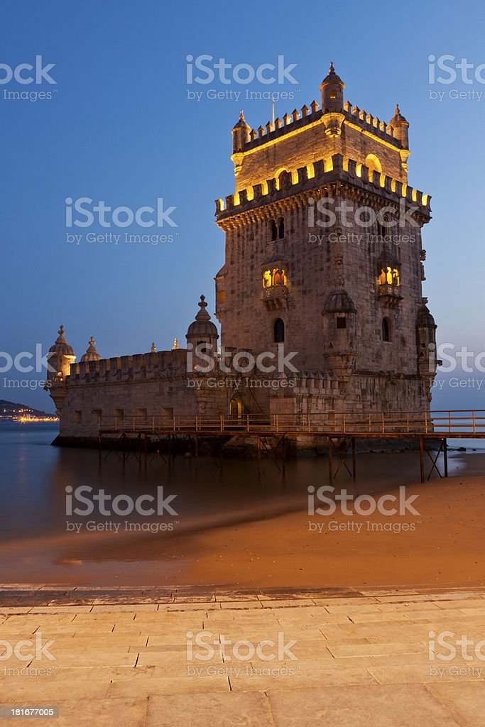 Tower of Belem, Lisbon, Portugal royalty-free stock photo