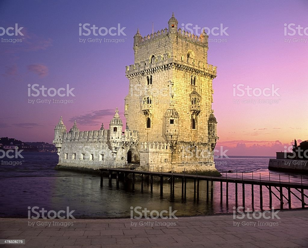 Tower of Belem, Lisbon, Portugal. royalty-free stock photo