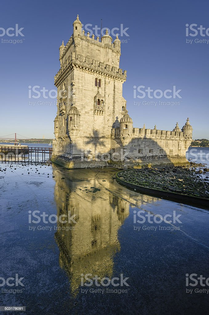 Tower of Belem , Lisbon, Portugal stock photo
