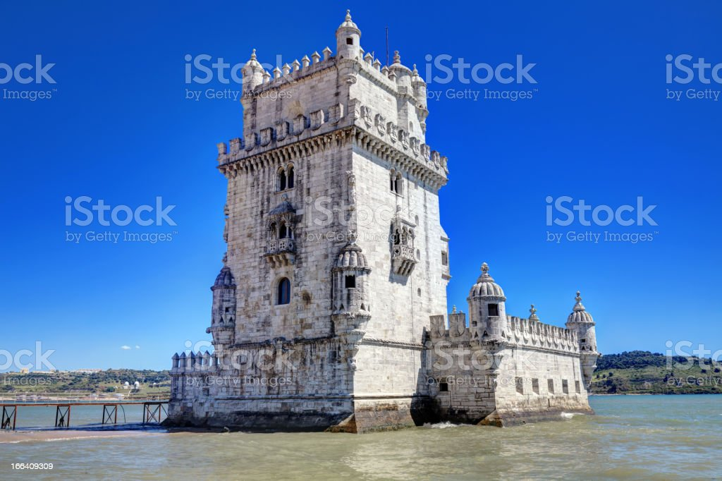 Tower of Belem royalty-free stock photo