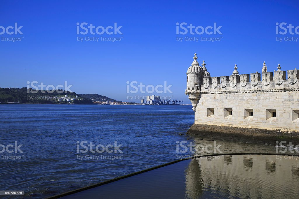 Tower of Belem stock photo