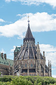 Tower of Canadian Parliament Building
