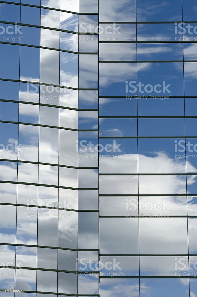 Tower of clouds royalty-free stock photo