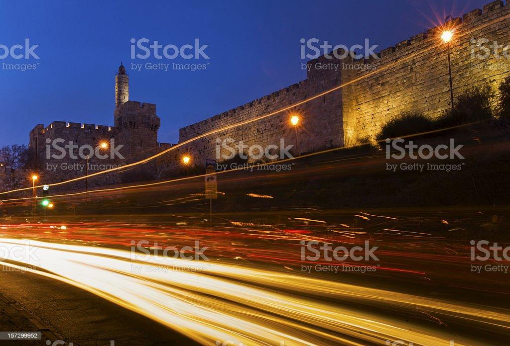 Tower of David, Jerusalem, Israel stock photo