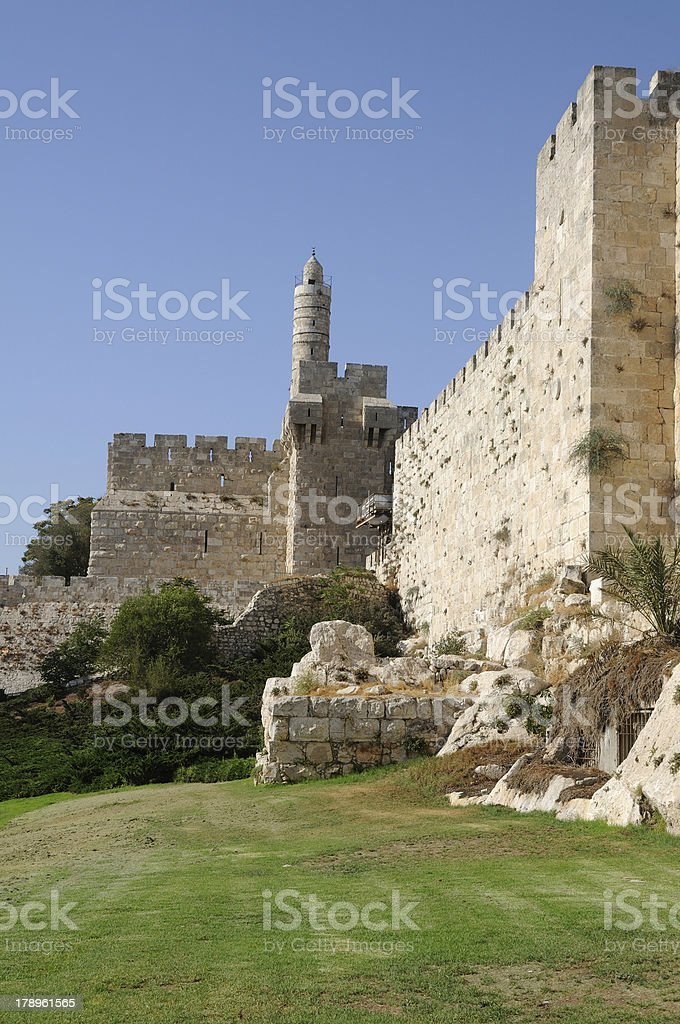 Tower Of David, Jerusalem, Israel royalty-free stock photo