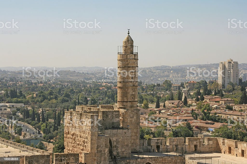 Tower of David, Jerusalem, Israel. royalty-free stock photo