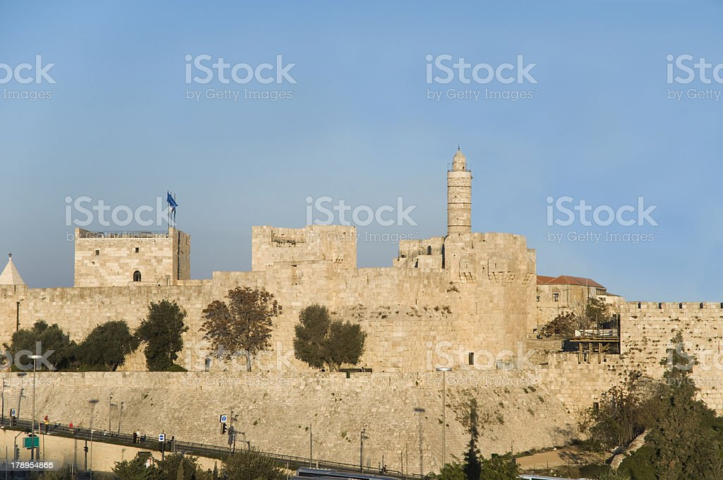Tower of David, jerusalem royalty-free stock photo