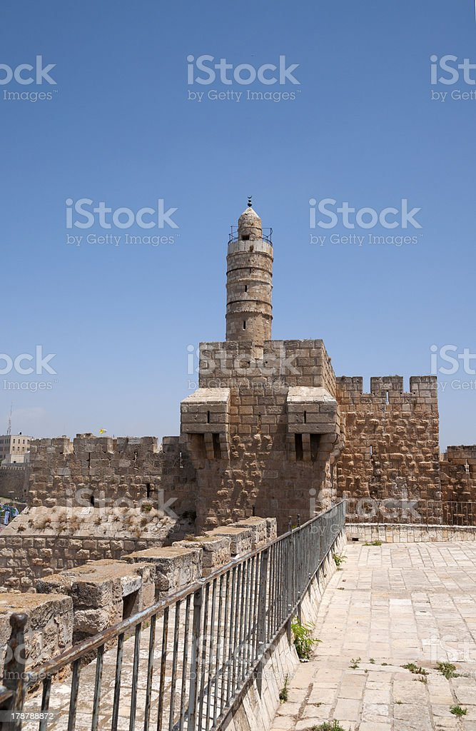 Tower of David Museum royalty-free stock photo