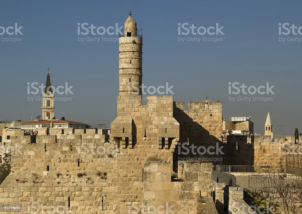 Tower Of David royalty-free stock photo