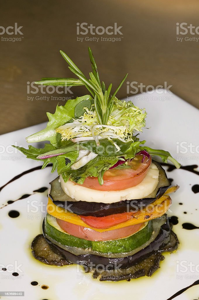 tower of food royalty-free stock photo