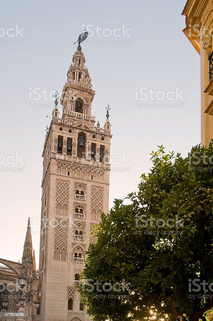 Tower of Giralda stock photo