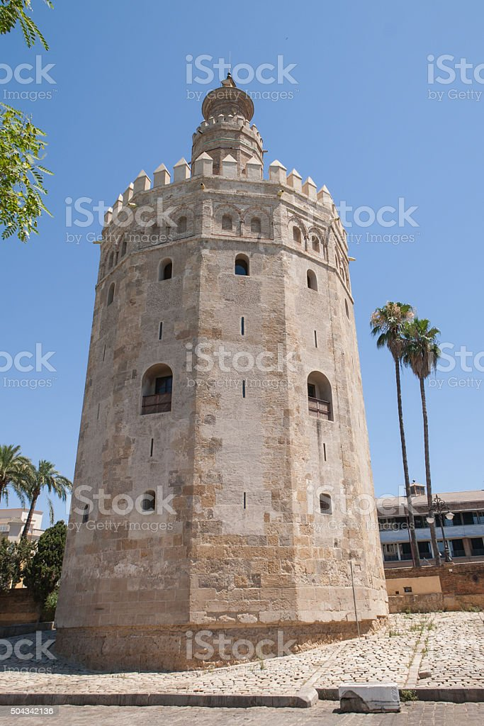 Tower of Gold. Seville (Spain) stock photo