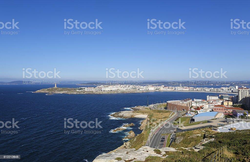 Tower of Hercules stock photo