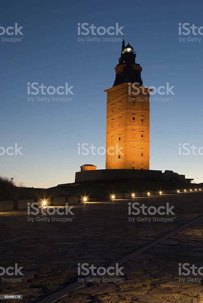 Tower of Hercules royalty-free stock photo