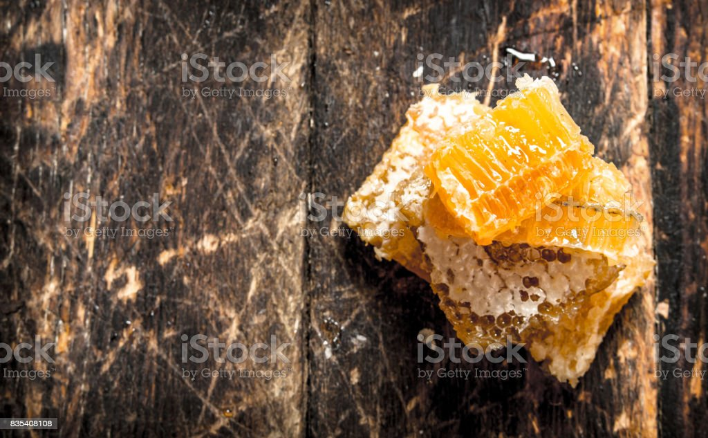 Tower of honeycomb. stock photo