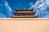 Tower of Jiayuguan Castle,Gansu of China
