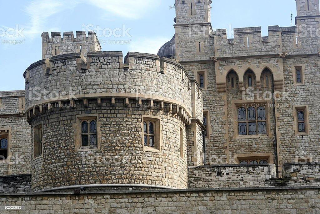 Tower of London 01 royalty-free stock photo