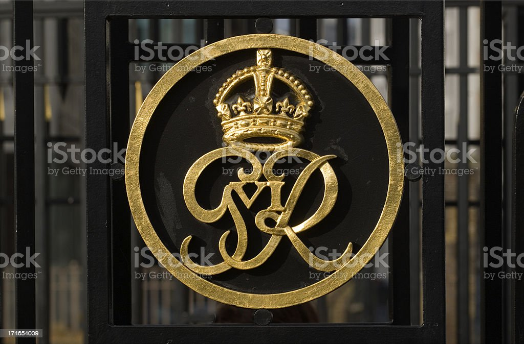 Tower of London gates. royalty-free stock photo