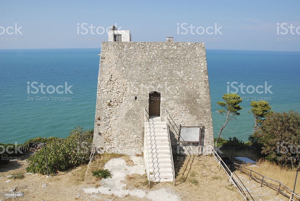 Torre di Monte Pucci royalty-free stock photo