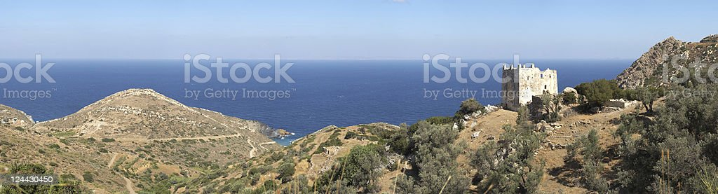 Tower of Naxos royalty-free stock photo
