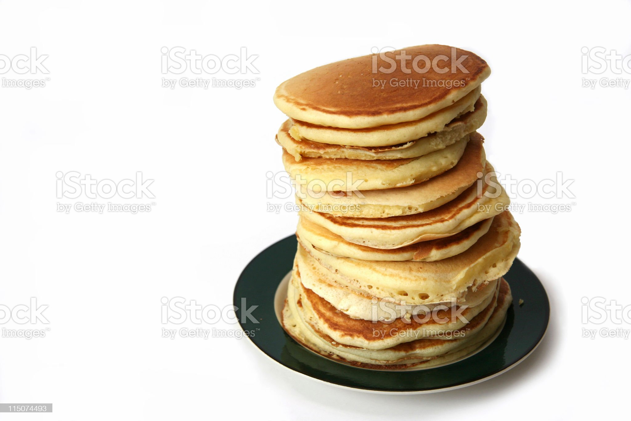 Tower of Pancakes royalty-free stock photo