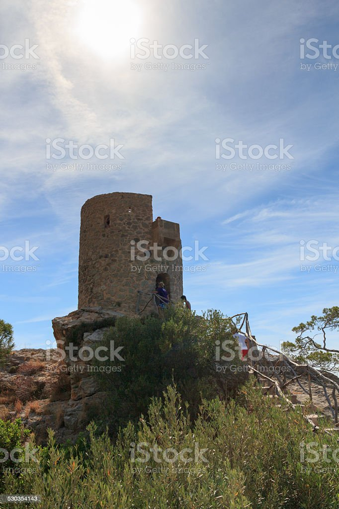 Tower of souls in Majorca, Spain stock photo