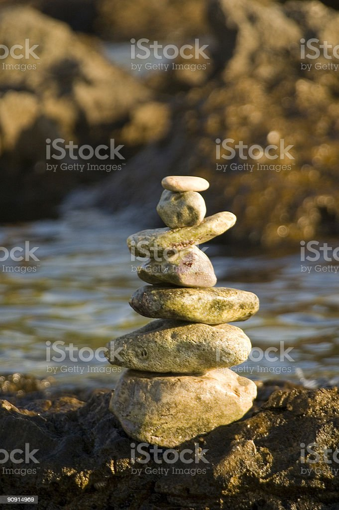 tower of stone royalty-free stock photo