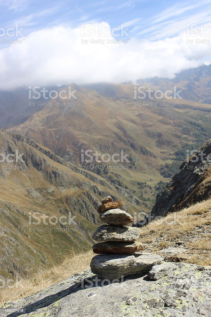 Tower of Stones royalty-free stock photo