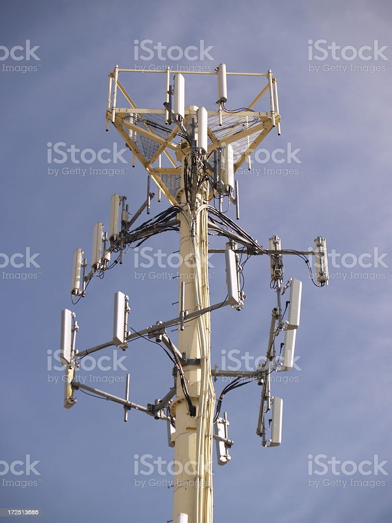 Tower of Technology royalty-free stock photo