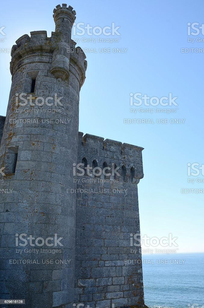 Tower of the  Monterreal Castle stock photo