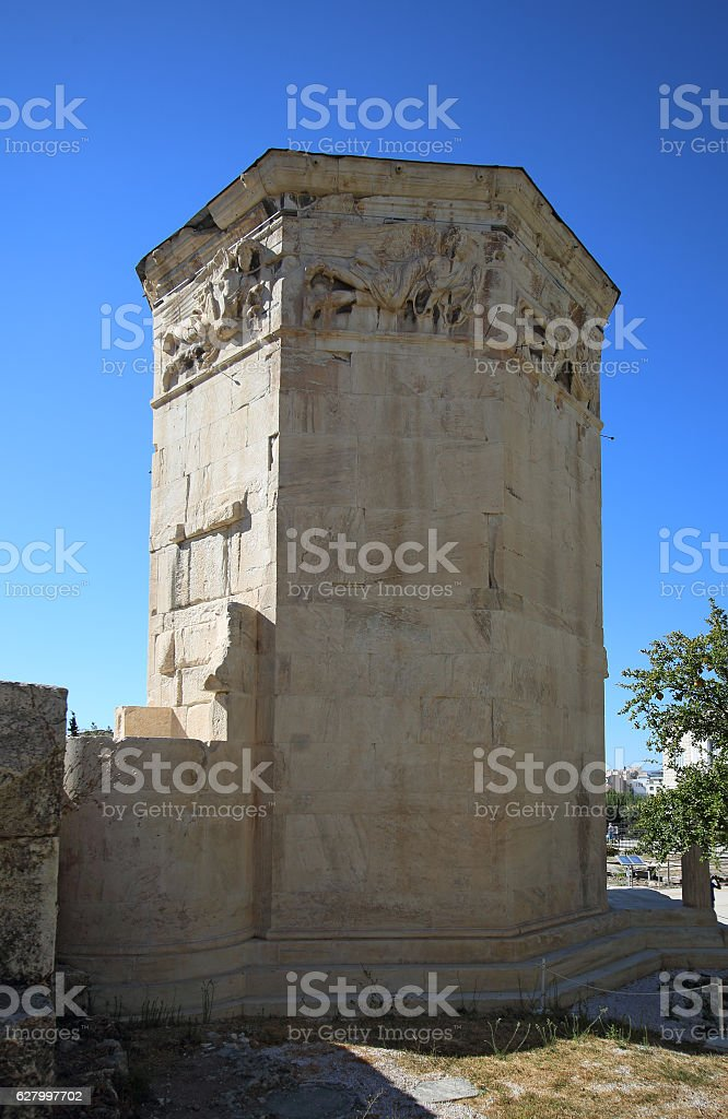Tower of the Winds, Athens, Greece stock photo