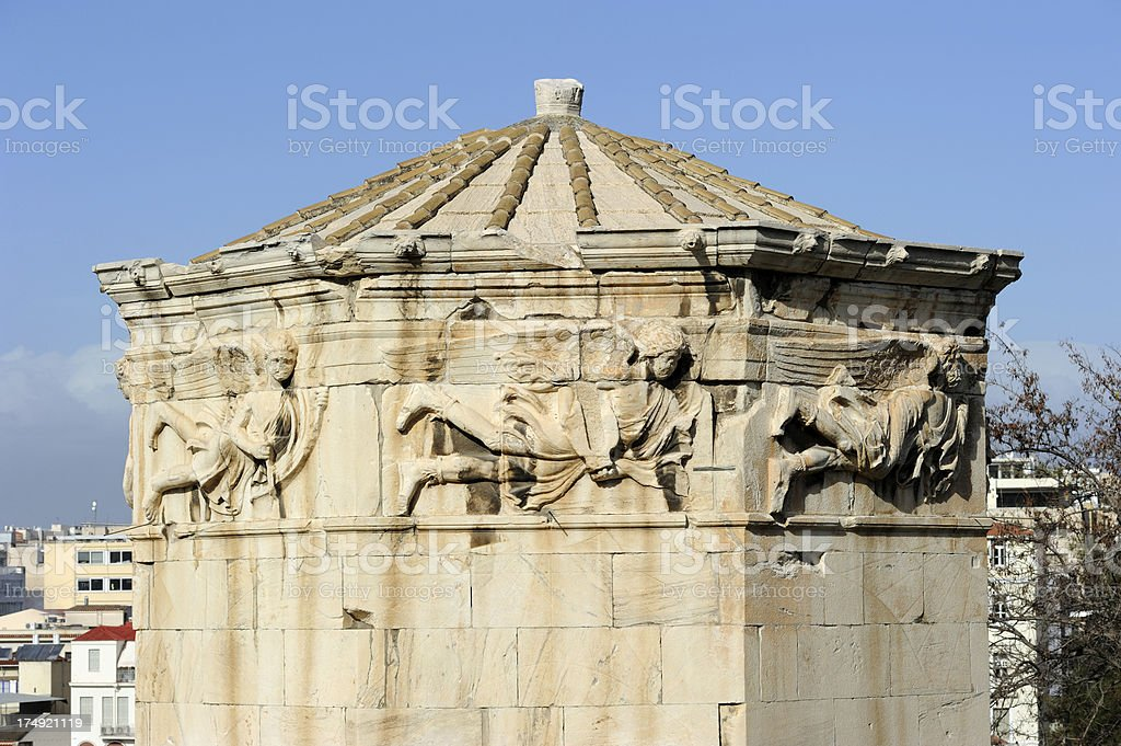 Tower Of  The Winds royalty-free stock photo