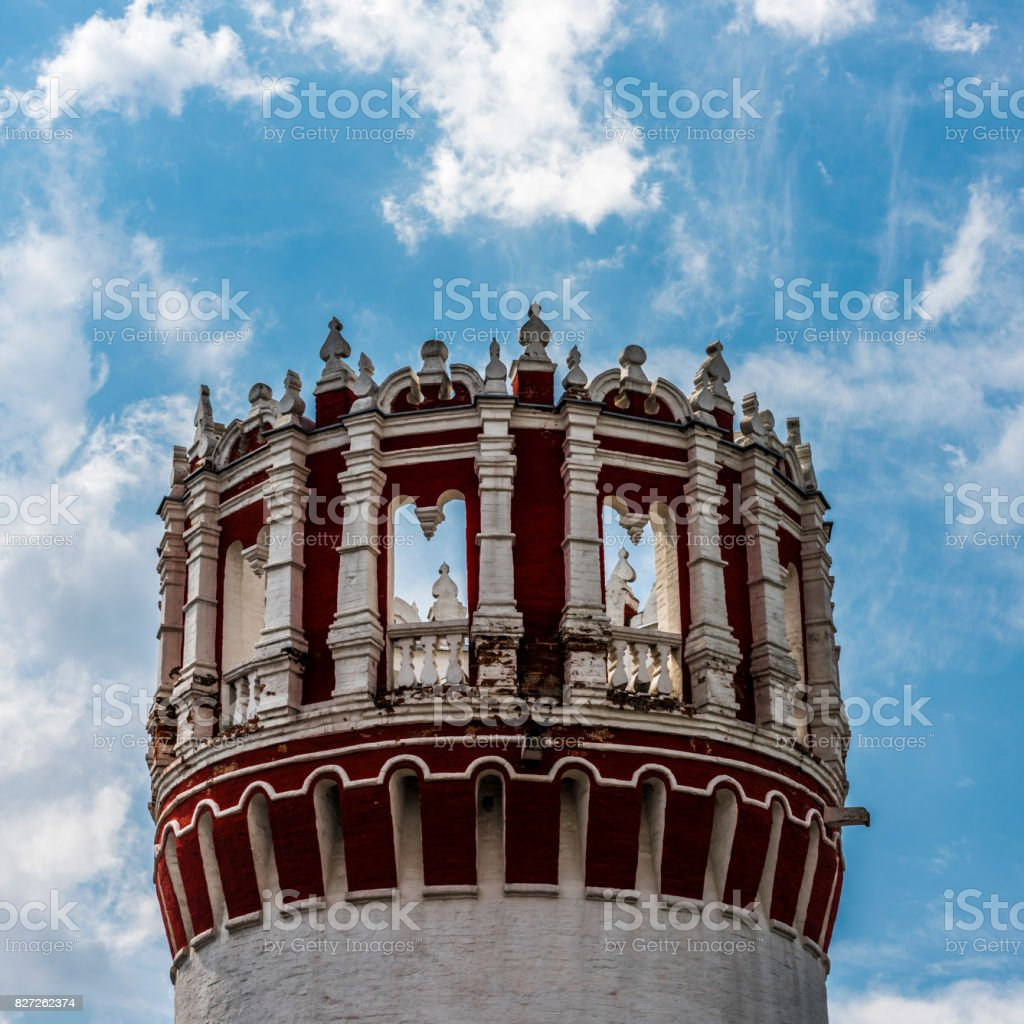 Tower on sky background stock photo